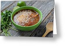 Tortilla Soup Greeting Card