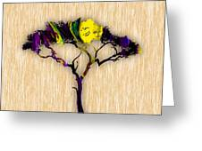 Tree Wall Art. Greeting Card