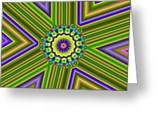 6 Triangle Design Greeting Card
