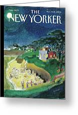 New Yorker August 11th, 2008 Greeting Card