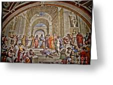 Vatican Art Greeting Card