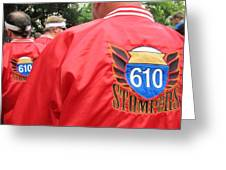 610 Stompers - New Orleans La Greeting Card