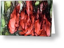 #618 Lifeless Beauty Greeting Card