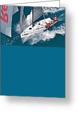 Miami Sail Week Greeting Card