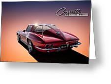 '63 Stinger Greeting Card