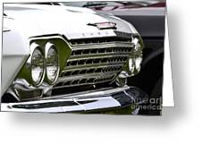 Chevy Impala Greeting Card