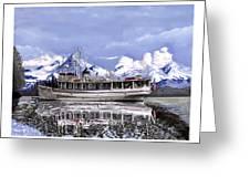 Alaska Yachting Greeting Card