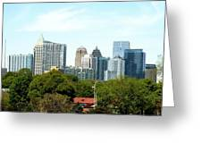Atlanta Ga. Greeting Card