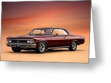 '66 Chevelle Greeting Card