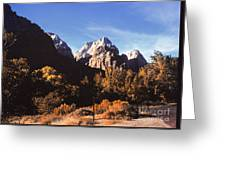 665 Sl Mountain Landscape  Greeting Card