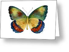 67 Bagoe Butterfly Greeting Card