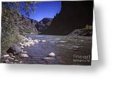671 Sl Big River Greeting Card