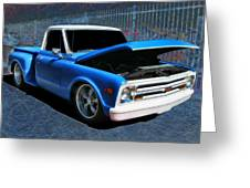 '68 Chevy Stepside Greeting Card