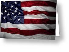 American Flag 52 Greeting Card