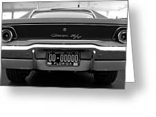 69 Charger Rt Greeting Card