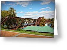 6th Street Bridge Greeting Card