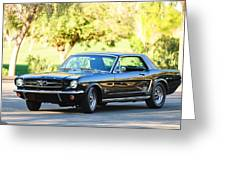 1965 Shelby Prototype Ford Mustang Greeting Card