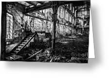 Abandoned Sugar Mill Greeting Card