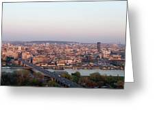 Belgrade, Serbia Greeting Card