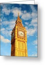 Big Ben Closeup Greeting Card