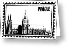 Cathedral Of St Vitus Greeting Card