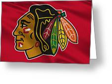 Chicago Blackhawks Uniform Greeting Card