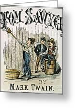 Clemens: Tom Sawyer Greeting Card