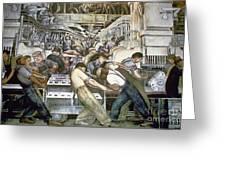 Diego Rivera - Detroit Greeting Card
