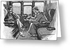 Doyle: Sherlock Holmes Greeting Card