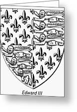 Edward IIi (1312-1377) Greeting Card