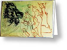 Five Wise Virgins  Greeting Card