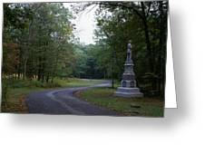 Gettysburg Military Park Greeting Card