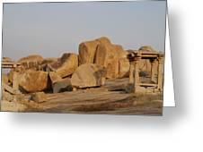 Hampi Landscape Greeting Card