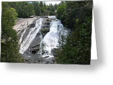 High Falls North Carolina Greeting Card