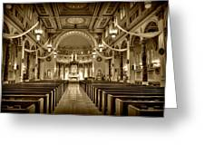 Holy Cross Catholic Church Greeting Card