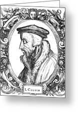 John Calvin (1509-1564) Greeting Card