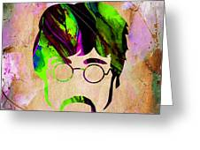 John Lennon Collection Greeting Card