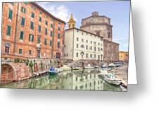 Livorno Greeting Card