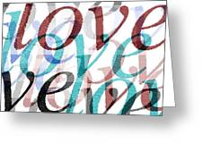 Love Greeting Card by Moshfegh Rakhsha