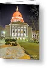 Madison Capitol Greeting Card by Steven Ralser