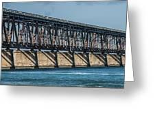 7 Mile Bridge Greeting Card