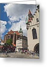 Munich Germany Greeting Card