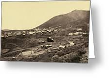 Nevada Virginia City Greeting Card