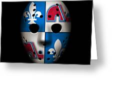 Quebec Nordiques Greeting Card