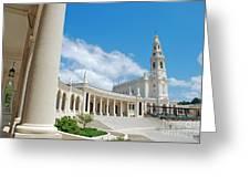 Sanctuary Of Fatima Greeting Card
