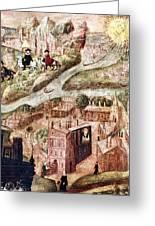 Sir Henry Unton (c1557-1596) Greeting Card