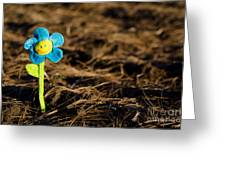 Smile Flower Greeting Card