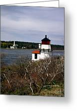 Squirrel Point Lighthouse Greeting Card