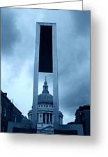 St Pauls Cathedral At London Attractions  Greeting Card