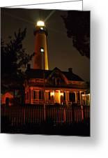St Simons Island Lighthouse 2 Greeting Card